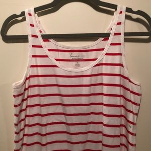 Tops - Red&White Striped Tank!